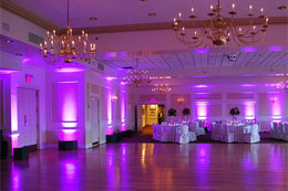 Mood Lighting and Uplighting for Hire in Kerry